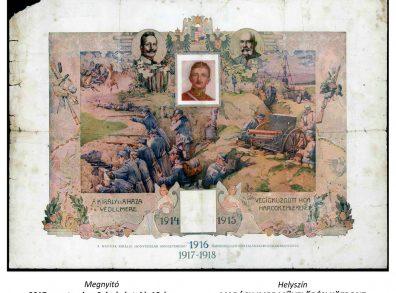 Vácia az I. világháború idején kiállítás