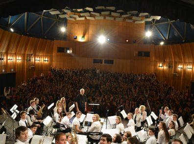 A Váci Ifjúsági Fúvószenekar koncertje