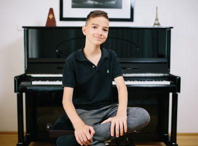 A jövő generációja: Boros Misi - zongora
