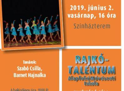 Rajkó-Talentum Alapfokú Művészeti Iskola