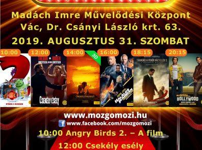 Augusztusi mozi