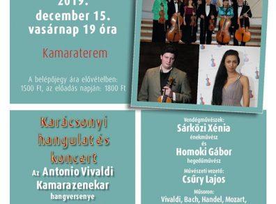 Karácsonyi hangulat és koncert - Az Antonio Vivaldi Kamarazenekar hangversenye