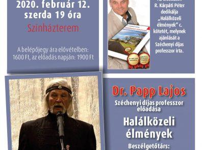 Dr. Papp Lajos: Halálközeli élmények